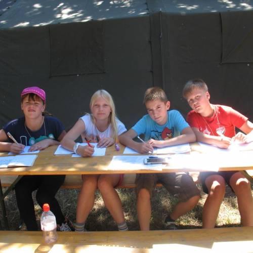 Taborjenje gasilske mladine 2015 - 2. dan