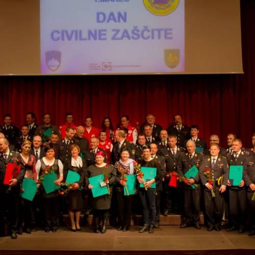 Letošnji prejemniki odlikovanj Civilne zaščite