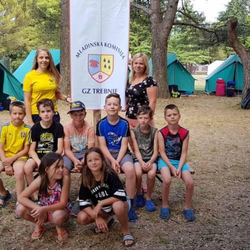 Taborjenje gasilske mladine 2018 - 5. dan (mlajši)