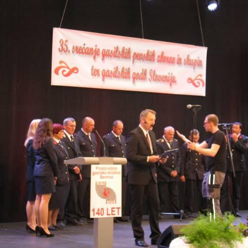 35. srečanje gasilskih pevskih zborov in skupin Slovenije