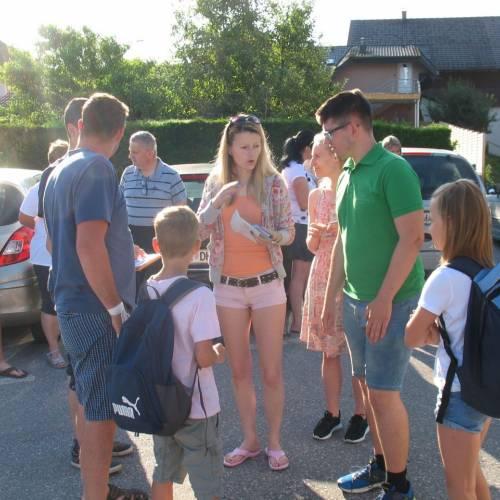 Taborjenje gasilske mladine 2019 - odhodi s postajališč za mlajše