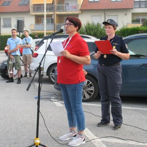 Že 11. vsesplošni pohod članic gasilk Gasilske zveze Slovenije