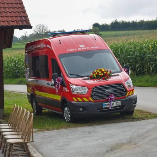 PGD Sveti Rok prevzema novo vozilo GVM-1