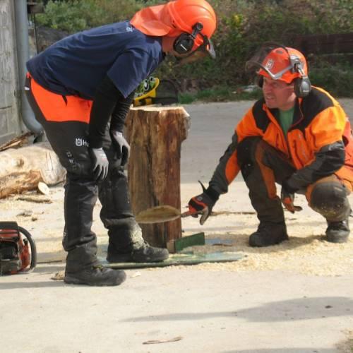 Tečaj za varno delo z motorno žago