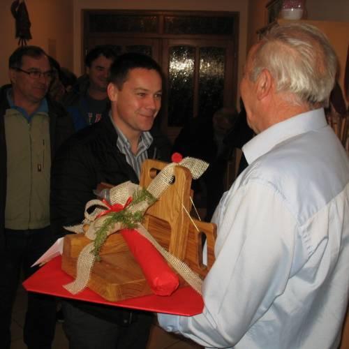 Častni predsednik GZ Trebnje je praznoval