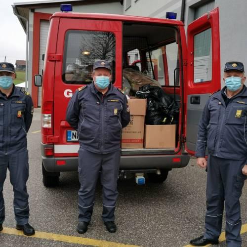 Gasilci na pomoč v potresu prizadeti Veliki Gorici