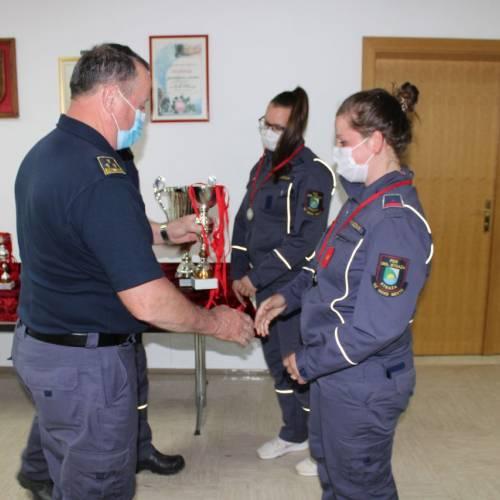 Podelili medalje in pokale za Pokal SSV GRD za leto 2020